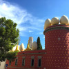 Dali museum in Spain during the Painting Workshop with www.frenchescapade.com