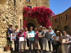 Journal sketching workshop Spain with Brenda Swenson