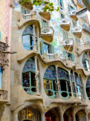Casa Batllo, Barcelona, vacation with www.frenchescapade.com