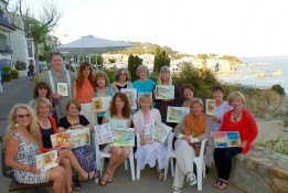 Watercolor Painting Workshop Spain with www.frenchescapade.com